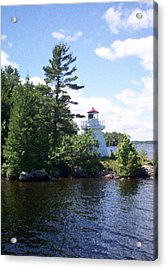 Lighthouse Island Acrylic Print