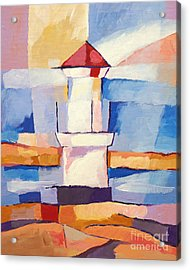 Lighthouse Acrylic Print by Lutz Baar