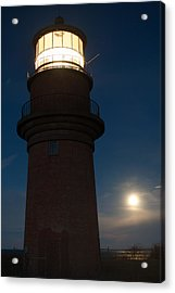 Lighthouse Moon Acrylic Print