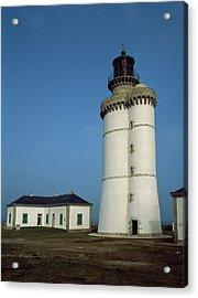 Lighthouse On An Island, Stiff Acrylic Print