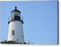 Lighthouse On Clear Day Acrylic Print