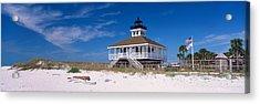 Lighthouse On The Beach, Port Boca Acrylic Print