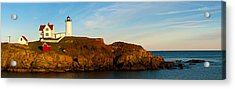 Lighthouse On The Coast, Cape Neddick Acrylic Print