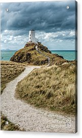 Lighthouse Path Acrylic Print by Adrian Evans