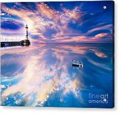Lighthouse Acrylic Print by Jacky Gerritsen