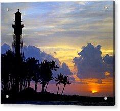 Lighthouse Point Sunrise 2 Acrylic Print