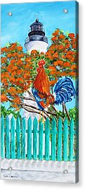 Lighthouse Rooster II Acrylic Print