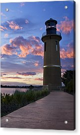 Acrylic Print featuring the photograph Lighthouse by Sonya Lang