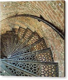 Lighthouse Spiral Staircase Acrylic Print
