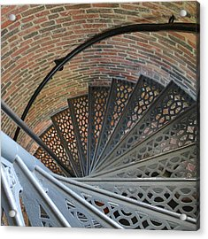 Acrylic Print featuring the photograph Lighthouse Stairs by Colleen Williams