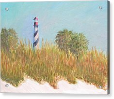 Lighthouse View From St. Augustine Beach Acrylic Print