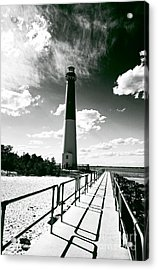Lighthouse Walk Acrylic Print by John Rizzuto