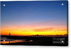 Acrylic Print featuring the photograph Lighthouse4 by Theresa Ramos-DuVon