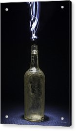 Acrylic Print featuring the photograph Lighting By The Quart - Light Painting by Steven Milner