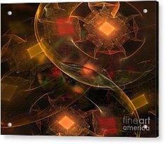 Lighting Decorations Acrylic Print by Klara Acel