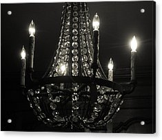 Lighting The Dark Acrylic Print by Paulette Maffucci