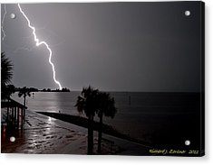 Lightning 1 Acrylic Print by Richard Zentner