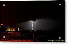 Lightning 10 Acrylic Print by Richard Zentner