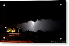 Acrylic Print featuring the photograph Lightning 11 by Richard Zentner