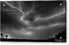 Lightning 2 Acrylic Print by Richard Zentner