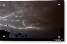 Lightning 5 Acrylic Print by Richard Zentner