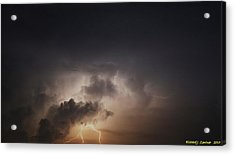 Lightning 8 Acrylic Print by Richard Zentner