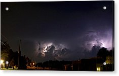Acrylic Print featuring the photograph Lightning 9 by Richard Zentner