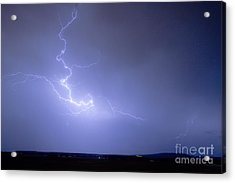 Lightning Goes Boom In The Middle Of The Night Acrylic Print by James BO  Insogna