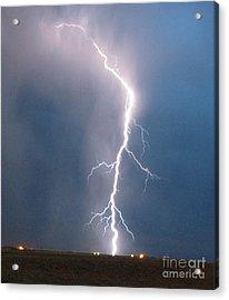 Lightning Roots Acrylic Print by Christian Jansen