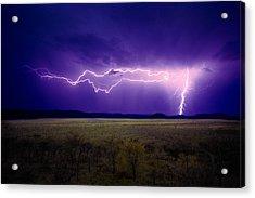 Lightning Serengeti Acrylic Print