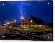 Lightning Show Acrylic Print