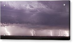 Acrylic Print featuring the photograph Lightning Storm by Rob Graham