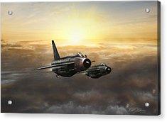 Lightnings On The Horizon Acrylic Print