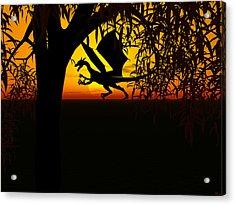 Lights And Shadow Acrylic Print