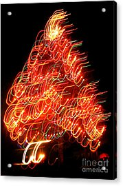 Lights Before Christmas Acrylic Print by Gem S Visionary