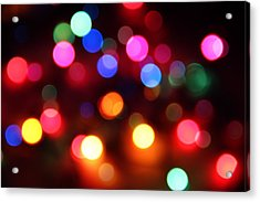 Acrylic Print featuring the photograph Lights by Elizabeth Budd