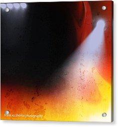 Lights Acrylic Print by Frank Sciberras
