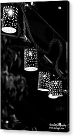 Acrylic Print featuring the digital art Lights by Gandz Photography