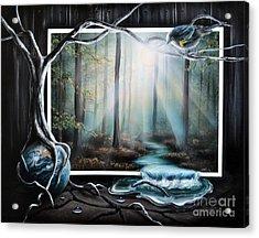 Lights Acrylic Print