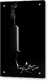 Lights Out Still Life Acrylic Print