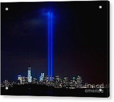 Lights Over Nyc Acrylic Print