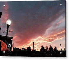 Acrylic Print featuring the photograph Lights The Whole Sky by Toni Martsoukos