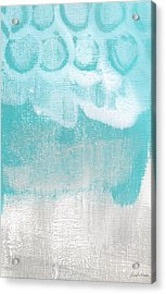 Like A Prayer- Abstract Painting Acrylic Print by Linda Woods