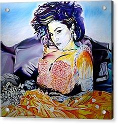 Like A Virgin Acrylic Print by Joshua Morton