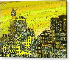 Like A Yellow Submarine Acrylic Print