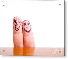 Like Fingers Acrylic Print by Sinisa Botas