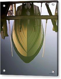 Like Glass Acrylic Print by Brian Wallace