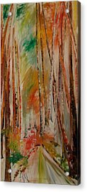 Like The Trees Always Looking Up Acrylic Print by PainterArtist FIN