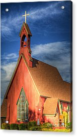 Lil' Church On The Pray're Acrylic Print