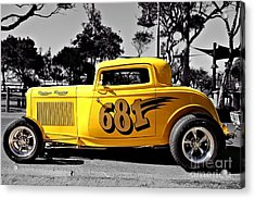 Lil' Deuce Coupe Acrylic Print
